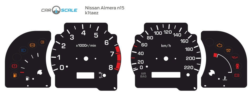 NISSAN ALMERA N15 01