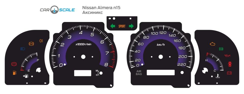 NISSAN ALMERA N15 02
