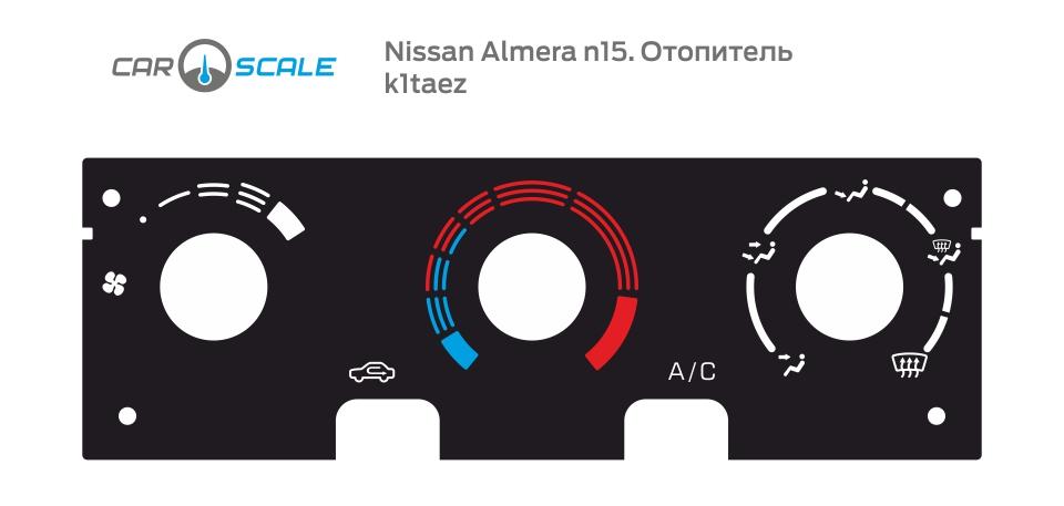 NISSAN ALMERA N15 HEAT 01
