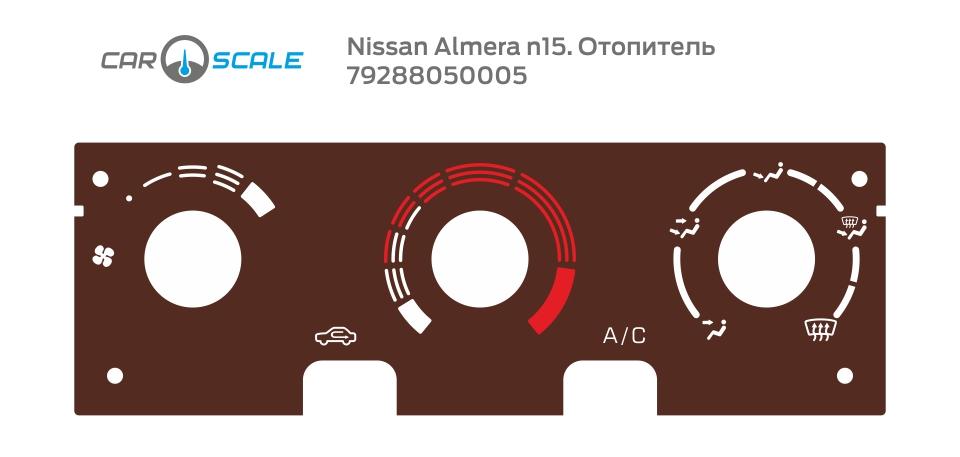 NISSAN ALMERA N15 HEAT 02