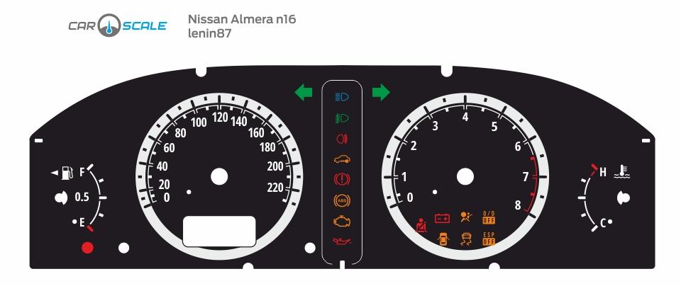 NISSAN ALMERA N16 REST 02