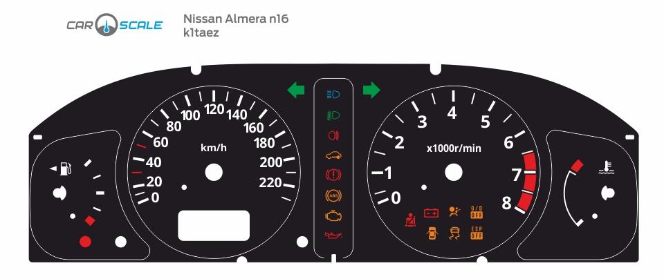 NISSAN ALMERA N16 REST 01