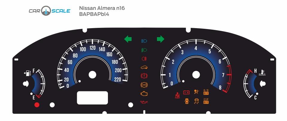 NISSAN ALMERA N16 REST 03
