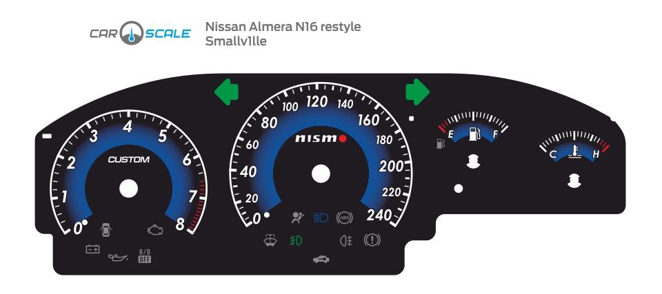 NISSAN ALMERA N16 REST 06