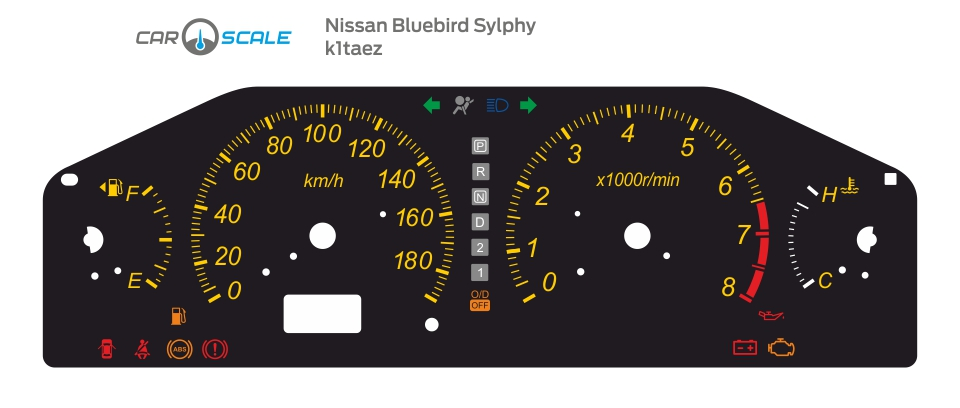 NISSAN BLUEBIRD SYLPHY 01