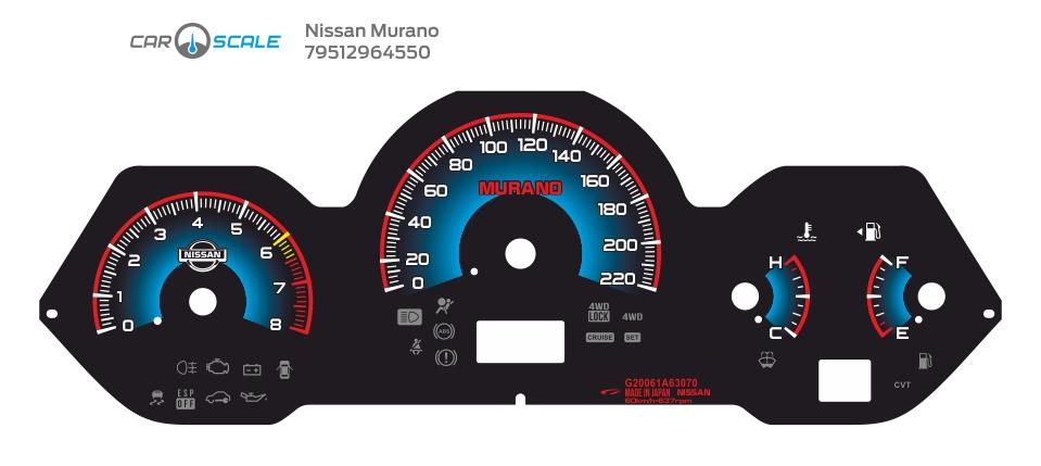 NISSAN MURANO 07