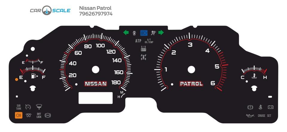 NISSAN PATROL 05