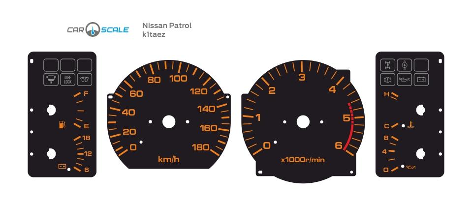 NISSAN PATROL GR 01