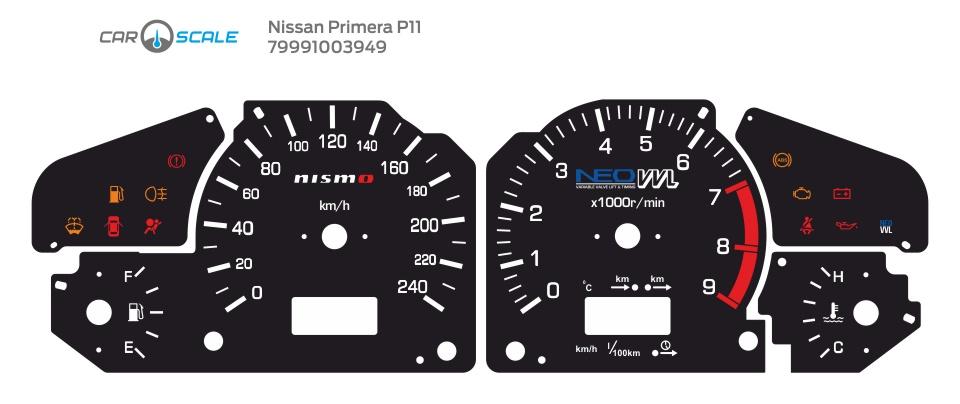 NISSAN PRIMERA P11 05
