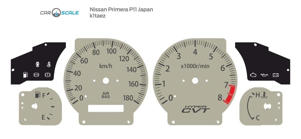 NISSAN PRIMERA P11 JP 01