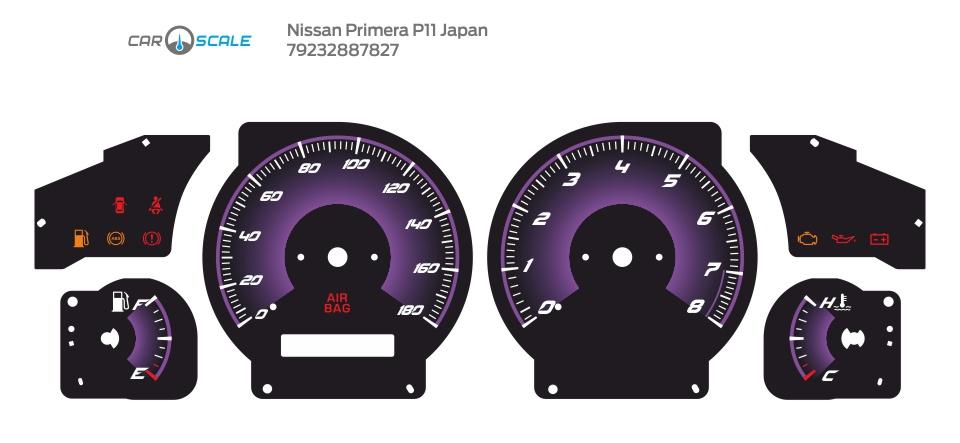 NISSAN PRIMERA P11 JP 02
