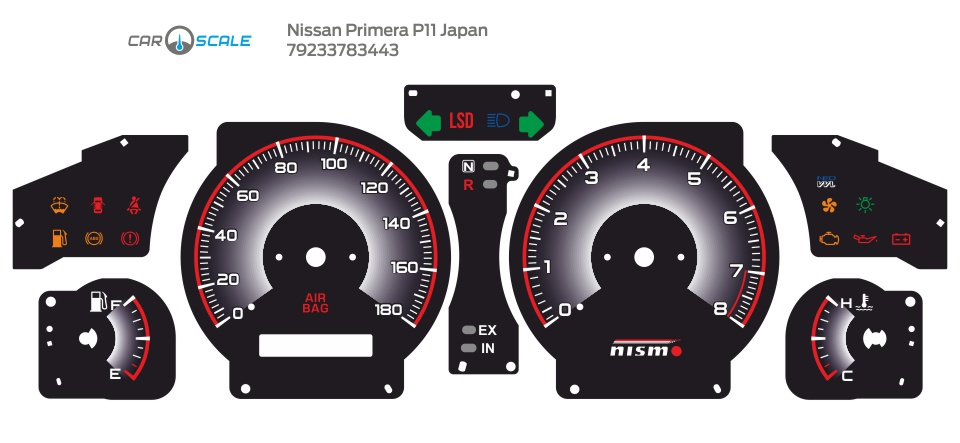 NISSAN PRIMERA P11 JP 03