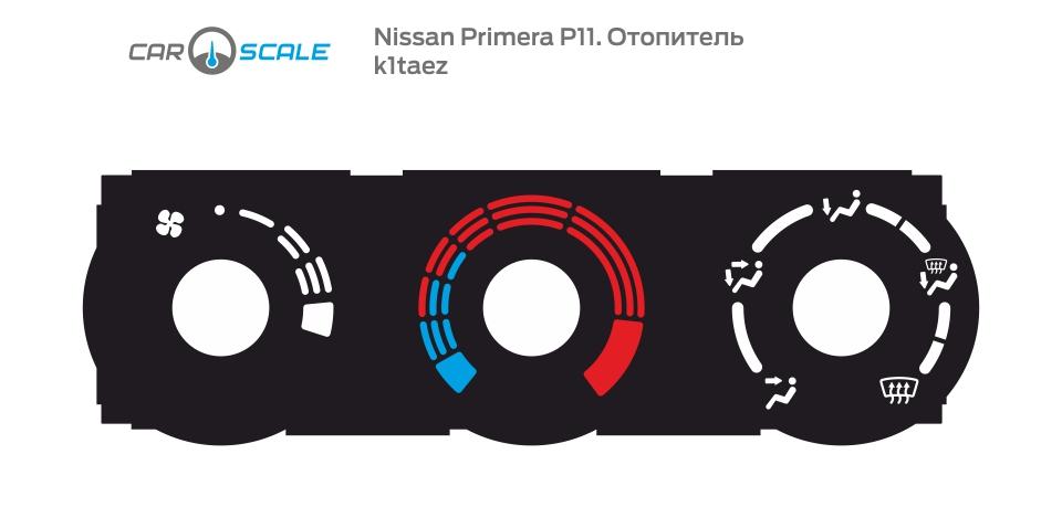 NISSAN PRIMERA P11 HEAT 01