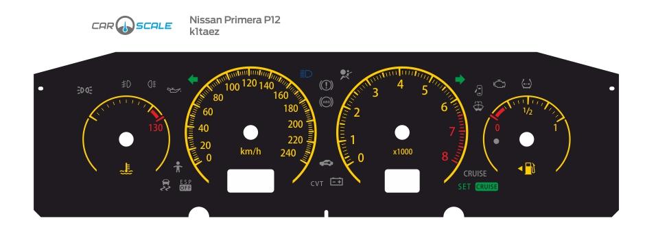 NISSAN PRIMERA P12 01