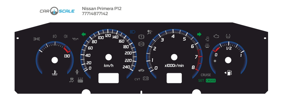 NISSAN PRIMERA P12 03