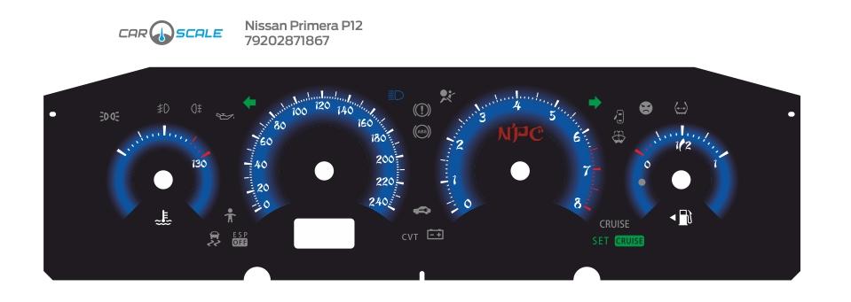 NISSAN PRIMERA P12 04