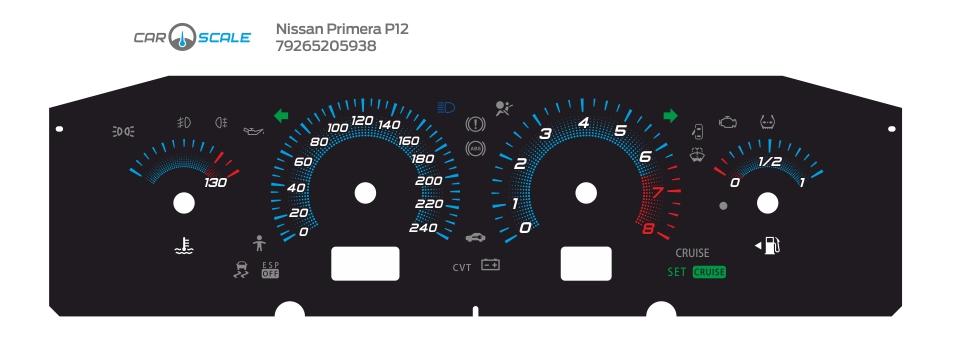 NISSAN PRIMERA P12 05
