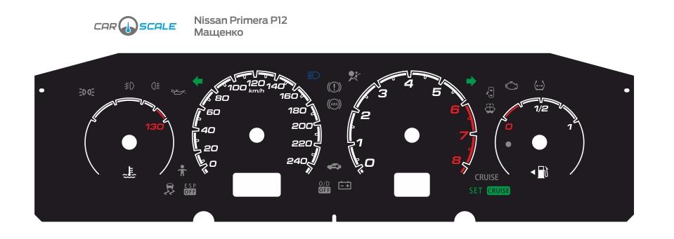 NISSAN PRIMERA P12 08