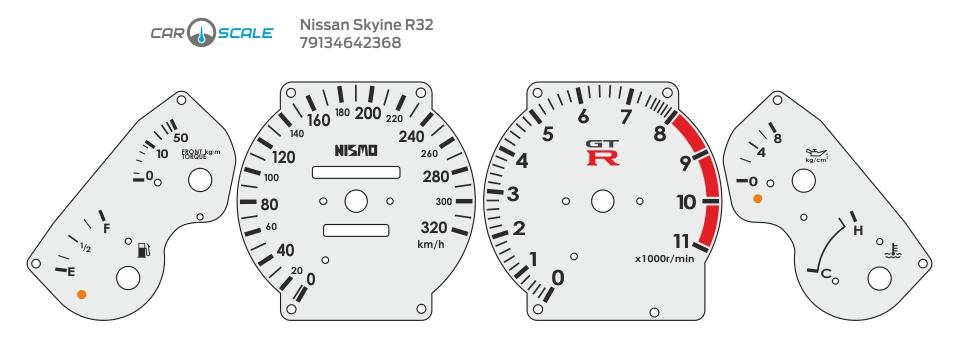 NISSAN SKYLINE R32 04