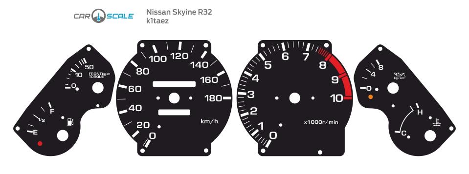 NISSAN SKYLINE R32 01