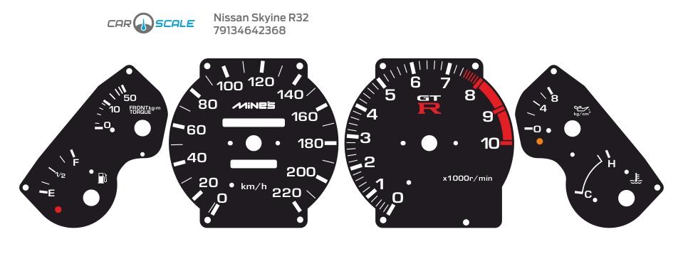NISSAN SKYLINE R32 05
