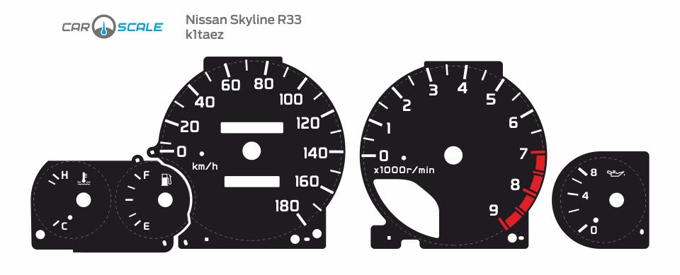 NISSAN SKYLINE R33 01