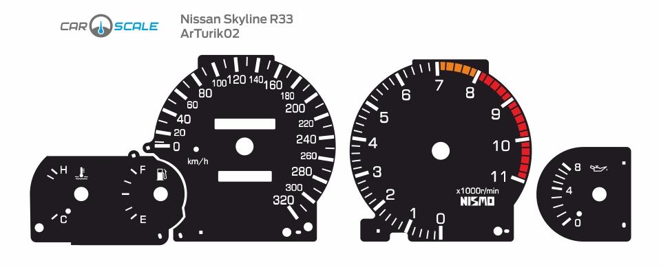 NISSAN SKYLINE R33 03