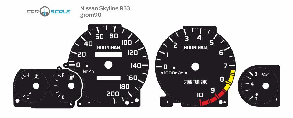 NISSAN SKYLINE R33 06