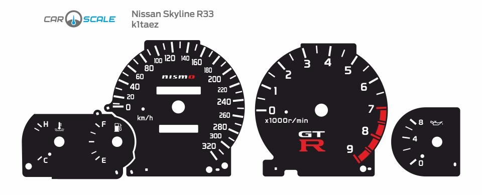NISSAN SKYLINE R33 07