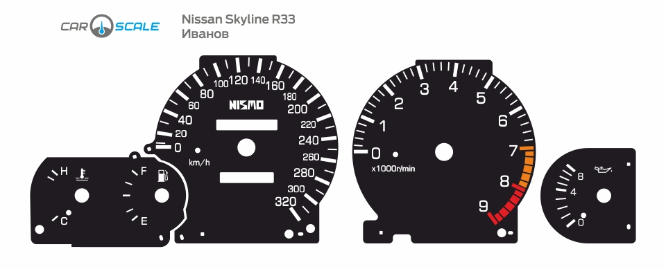 NISSAN SKYLINE R33 15