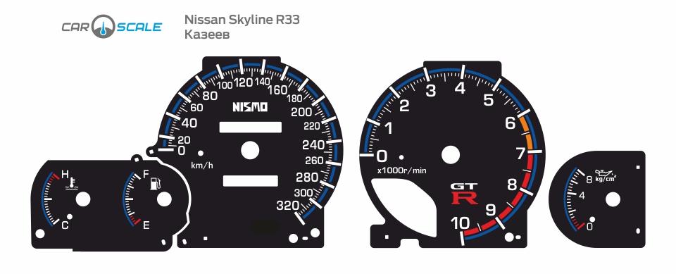 NISSAN SKYLINE R33 16