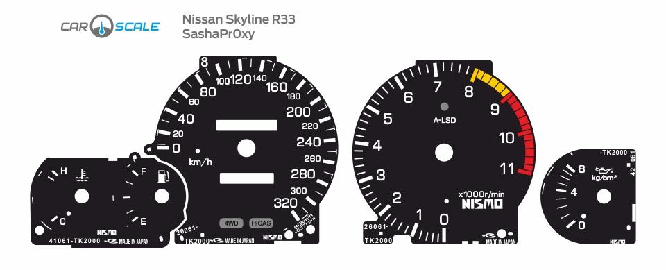 NISSAN SKYLINE R33 18