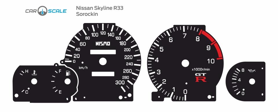 NISSAN SKYLINE R33 20