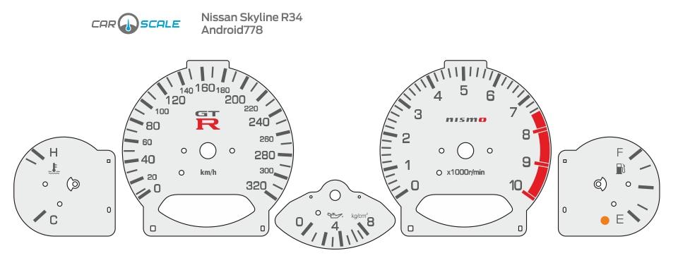 NISSAN SKYLINE R34 04