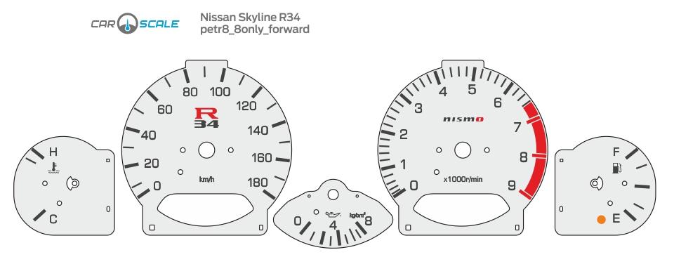 NISSAN SKYLINE R34 05