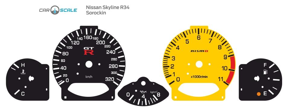 NISSAN SKYLINE R34 06