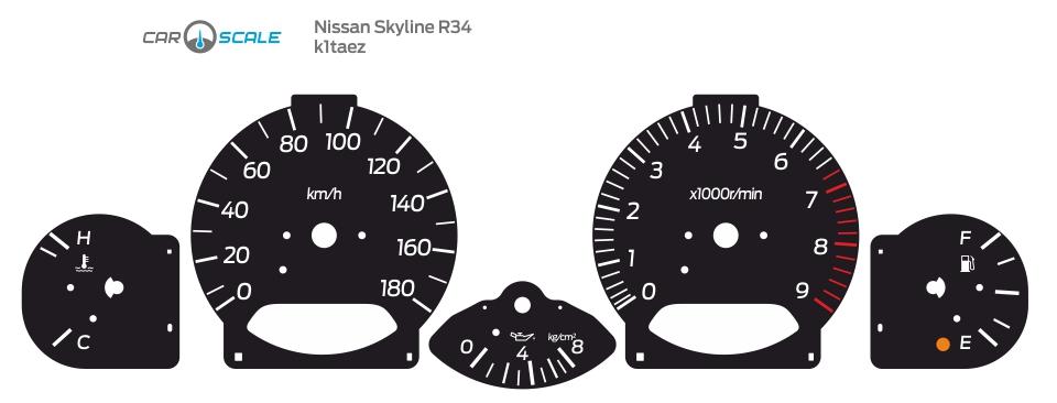 NISSAN SKYLINE R34 01