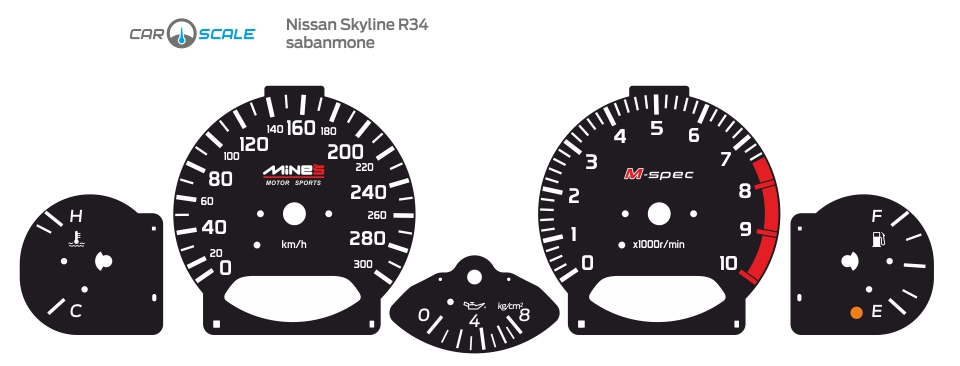 NISSAN SKYLINE R34 02