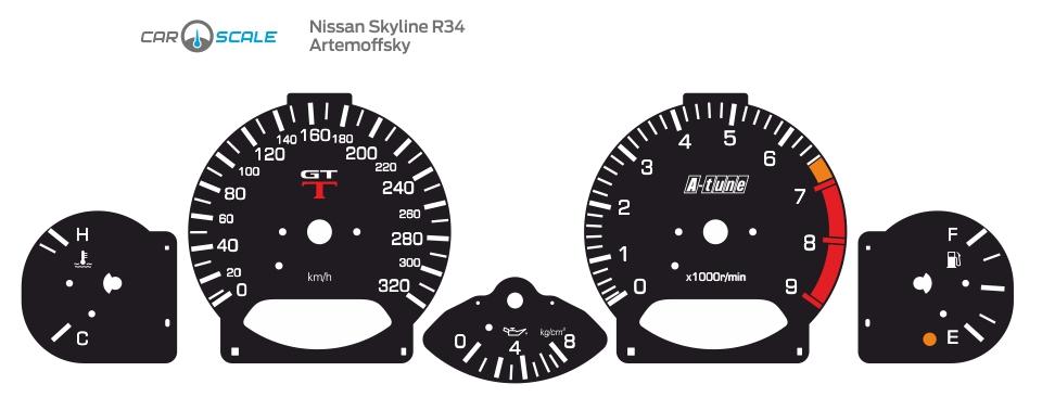 NISSAN SKYLINE R34 03