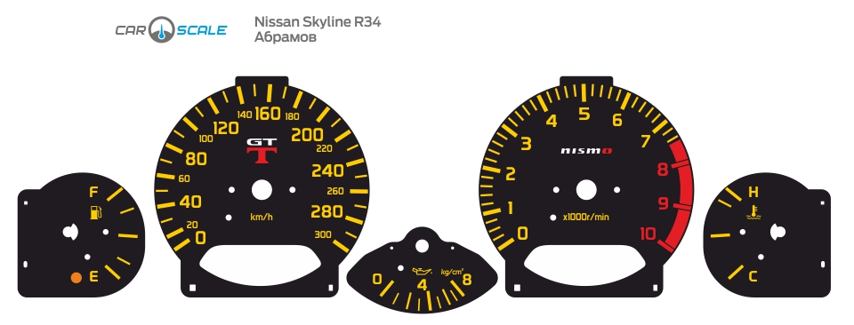 NISSAN SKYLINE R34 08
