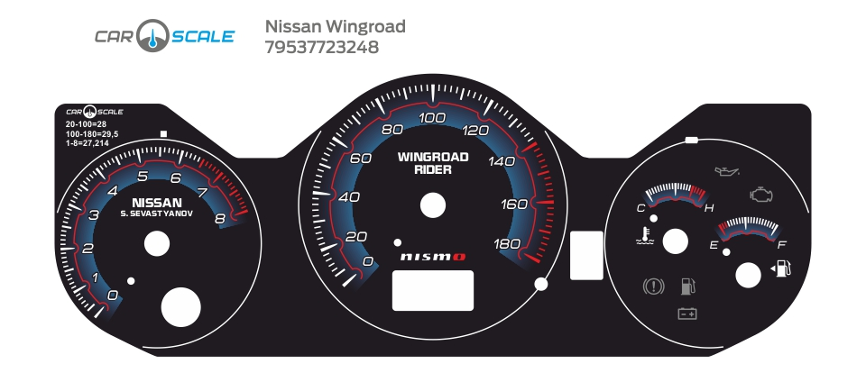 NISSAN WINGROAD 07