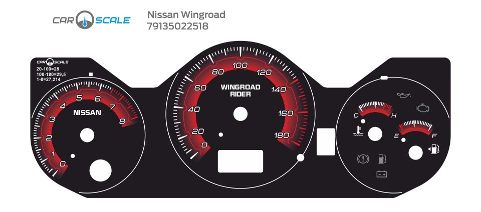 NISSAN WINGROAD 08