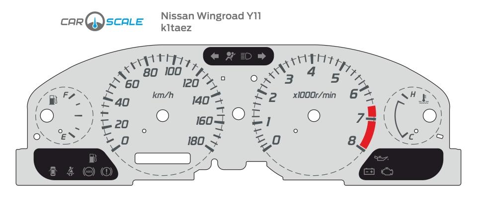 NISSAN WINGROAD Y11 01