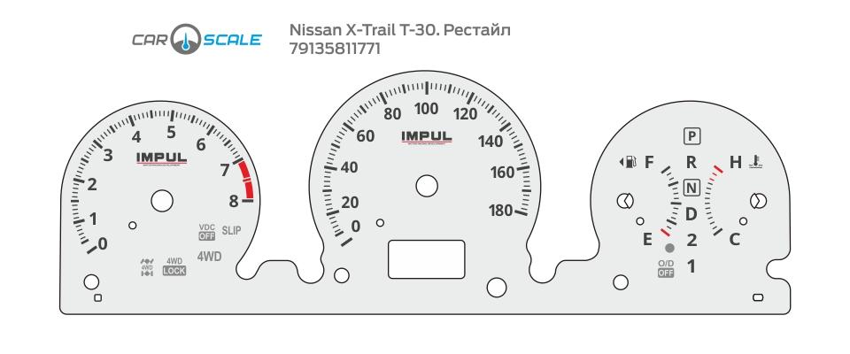 NISSAN X-TRAIL T30 REST 03