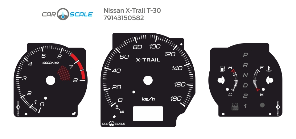 NISSAN X-TRAIL T30 03