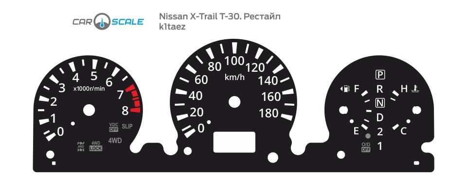 NISSAN X-TRAIL T30 REST 01