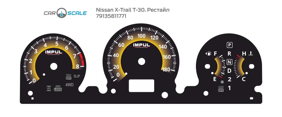 NISSAN X-TRAIL T30 REST 02