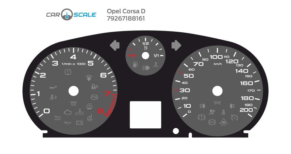 OPEL CORSA D 02