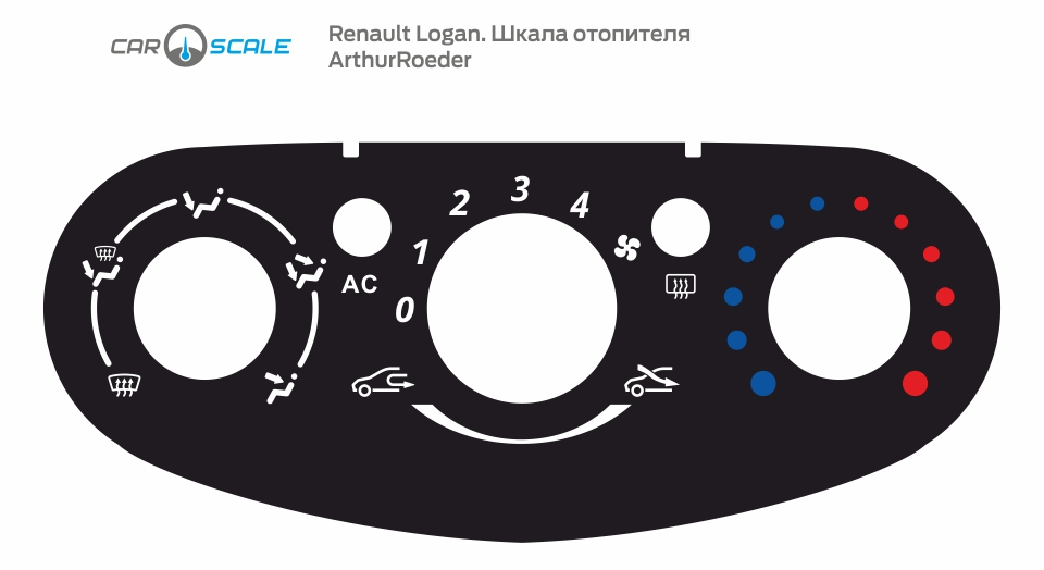 RENAULT LOGAN HEAT 06