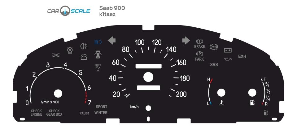 SAAB 900 01